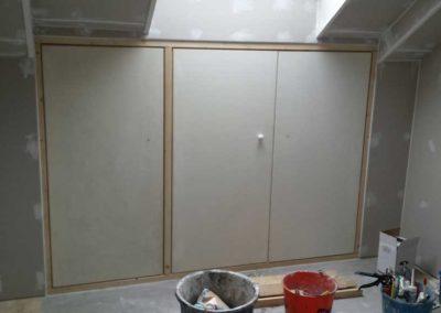 Verbouwing zolderkamer