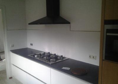 Verbouwing keukenblok